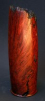 Jarrah Burl Vase I -  A tall natural edged Jarrah Burl Vase. Hollowed using a Vermec Deep H