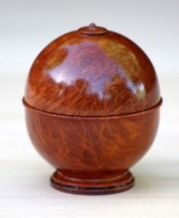 Lace Sheoak Single Ring Box - 