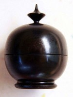 Ebony Ring Box - 
