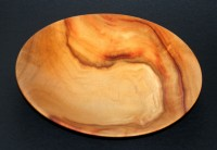Shawl -  This thin-walled shallow bowl was made from a lump of Camphor Laurel,