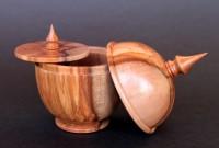 Leatherwood Jewel -  Tasmanian Leastherwood was used to make this delicate jewel box with